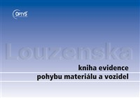 Kniha evidence pohybu mater. A4/96l 1244 OPTYS